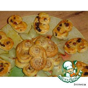 Слоеное печенье