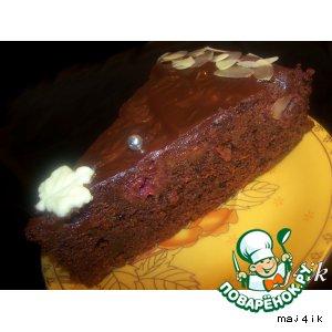 "Торт ""Шоколадно-вишнeвая сказка"""