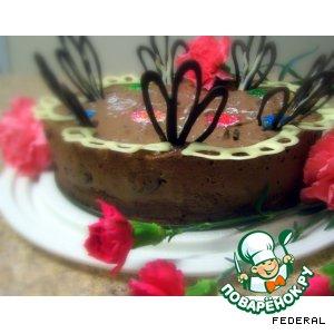 """Торт """"Шоколадно-бархатный"""""""