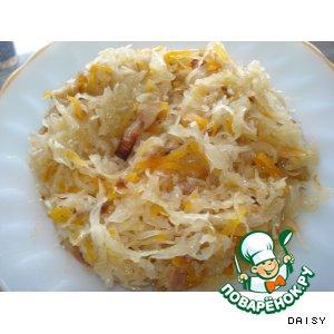Солянка из квашеной капусты (не суп)