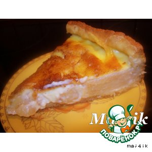 """Заливной яблочный пирог """"Наливное яблочко"""""""