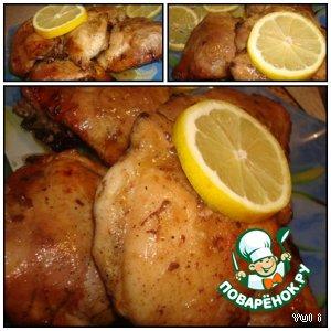 Курица в горчично-медовом соусе