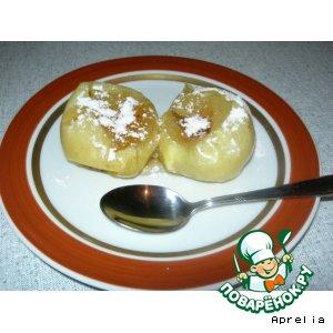 Быстрые печеные яблоки