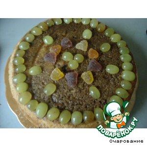 """Торт """"Виноградное ожерелье"""""""