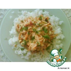 """Соус """"Овощи со сметаной"""""""
