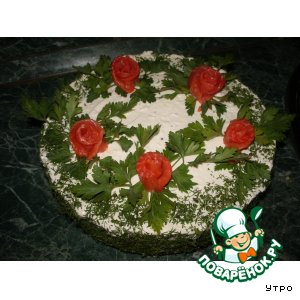 """Закусочный торт """"Роскошный"""""""