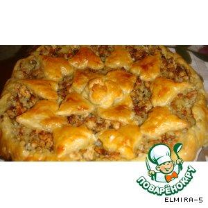 Пирог из индюшатины