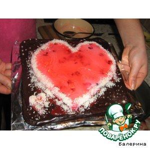 """Тортик """"От сердца к сердцу"""""""