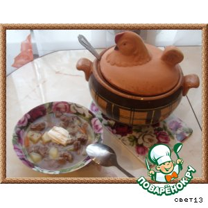 Деревенский суп-рагу