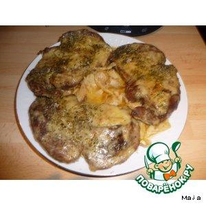 Говядина в соево-чесночном маринаде