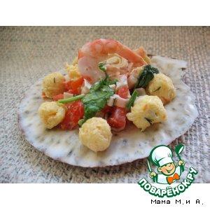 Салат «Жемчужины Красного моря»