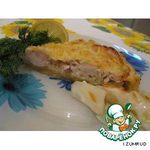 Куриное филе в яблочно-медовом соусе