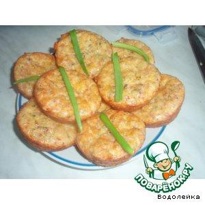Сырные маффинчики или рулет