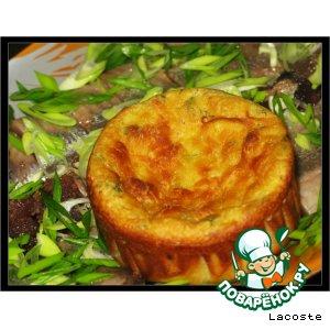 Мини-запеканки из картофеля с брынзой и зеленью