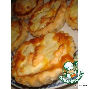 Киш-пирог картофельно-лососевый