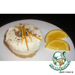 Десерт творожно-цитрусовый