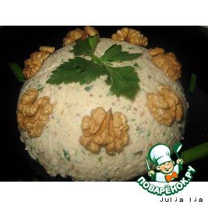 Паштет из сулугуни с грецкими орехами