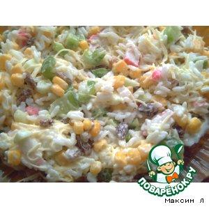 Крабовый салат или Солянка Вкусностей