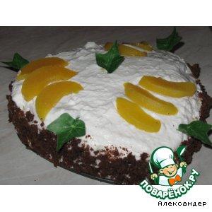 """Торт """"Персик"""""""