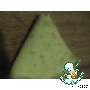 Треугольнички с мясом