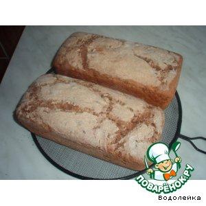 Ржаной хлеб с цельным зерном и семенами