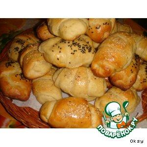 Рогалики из картофельного теста