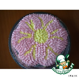 """Торт """" Аленький цветочек"""""""