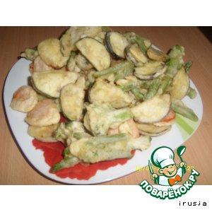 Темпура или овощи в кляре