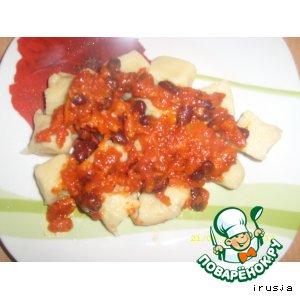 Ньоки с томатным соусом
