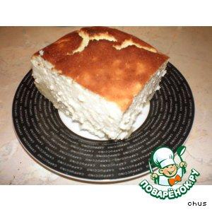 Пирог с яичным ликером