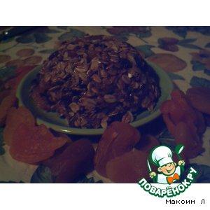 Овсяный десерт с сухофруктами