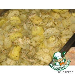 Простой картофель