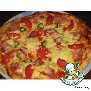 Пицца по-быстрому
