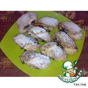 Печенье с финиковой халвой