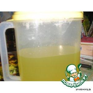 Витаминный напиток из лимонов