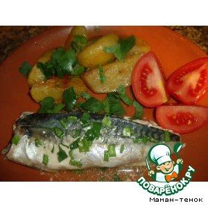 Запеченая рыбка с травами (розмарин)
