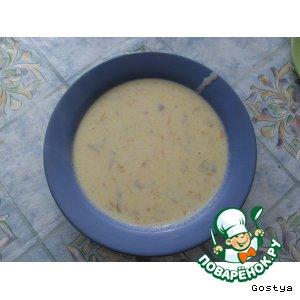 """Суп """"Молочно-грибная вкусняшка"""""""