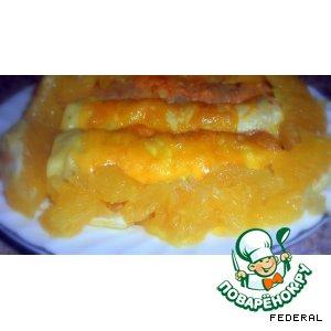 Бризоли с апельсиновым соусом