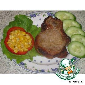 Запеченная свинина «Быстрый сытный ужин»