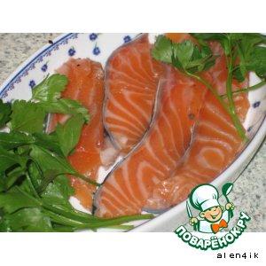 Оригинальный способ маринования рыбы