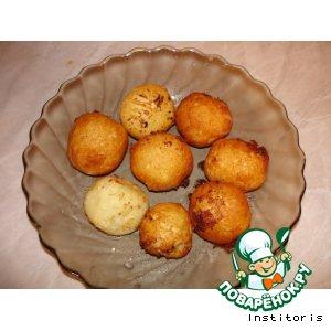 Воздушные шарики из картошки с сыром
