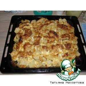 Морской язык с картофелем