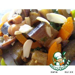 Закуска   из   баклажанов    с   грибами