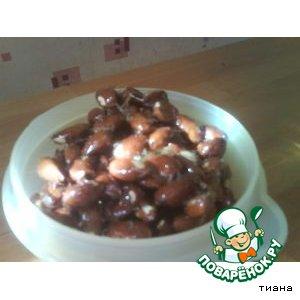 Миндальные орешки в карамели