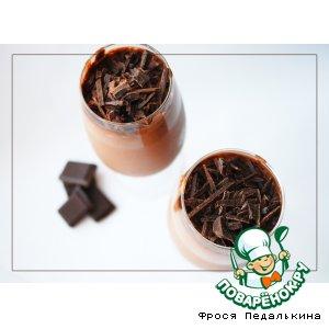 Шоколадный мусс с коньяком