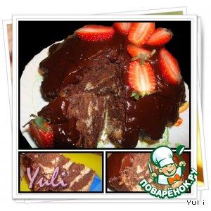 Пасхальный шоколадный кекс