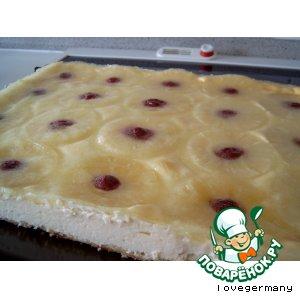 Гавайский сырный пирог