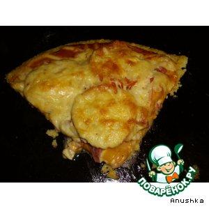 """Пицца на """"полентовой"""" основе"""