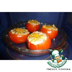 """Фаршированные помидоры """"Коктейль"""""""