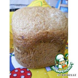 Хлеб с сыром и сырокопчeной колбасой